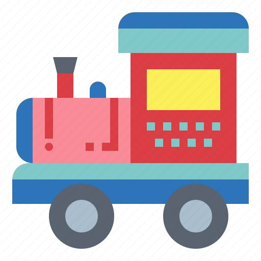 Baby Kid Toy Train Icon