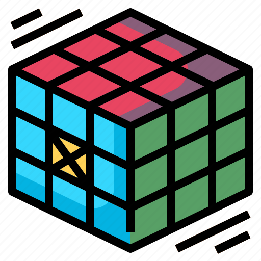 cube, education, freak, gaming, rubik icon