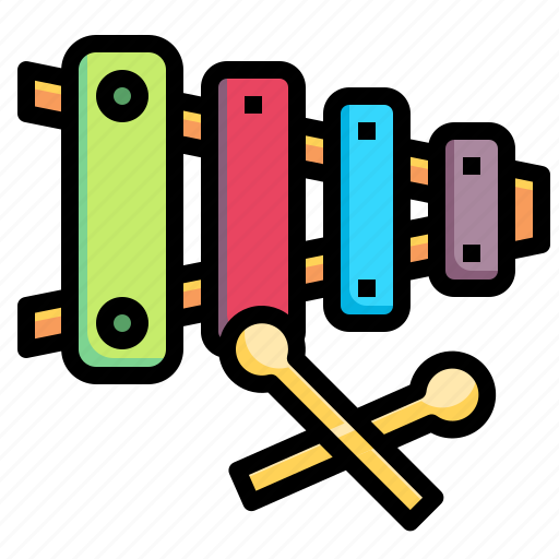 childhood, instrument, music, musical, orchestra, xylophone icon