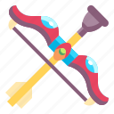 arc, toy, archery, arrow, baby, kid