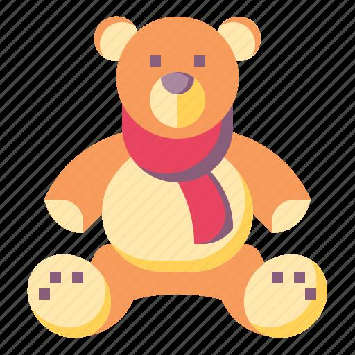 animals, baby, bear, kid, puppet, teddy icon