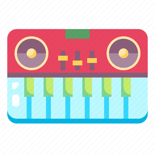 hobby, instrument, melody, music, musical, piano icon