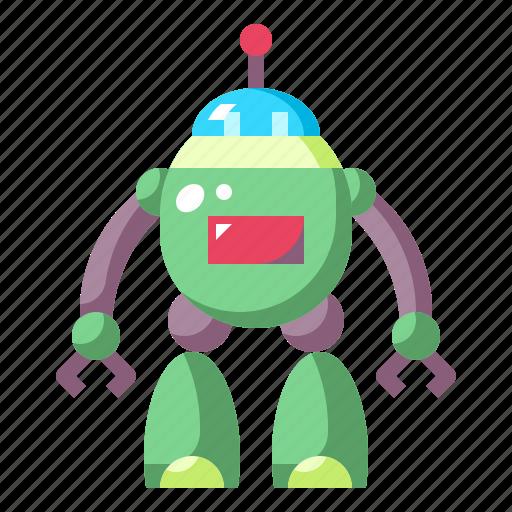 Children, metal, robot, toy, toys icon - Download on Iconfinder