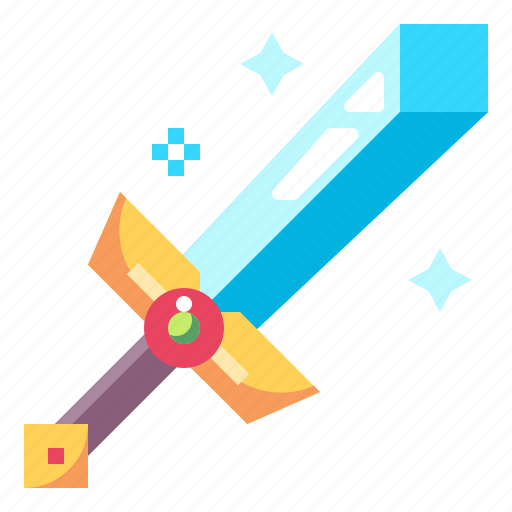 And, baby, fighter, gaming, kid, sword, toy icon - Download on Iconfinder