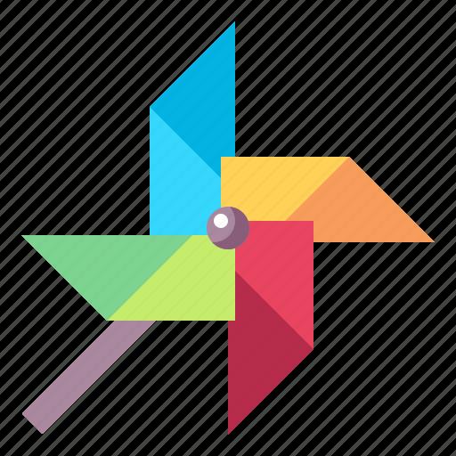 Fun, hobbies, toy, wheel, wind icon - Download on Iconfinder