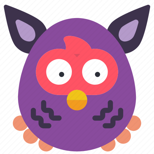 Childrens, furby, kids, owl, teddy, toy, toys icon - Download on Iconfinder
