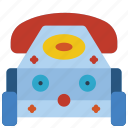 childrens, kids, phone, telephone, toy, toys icon