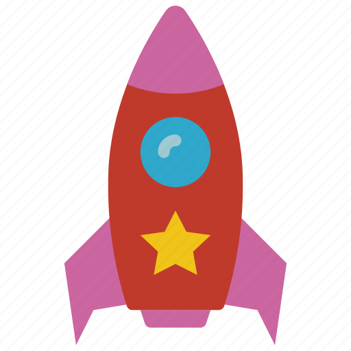 Childrens, kids, rocket, ship, shuttle, toy, toys icon - Download on Iconfinder