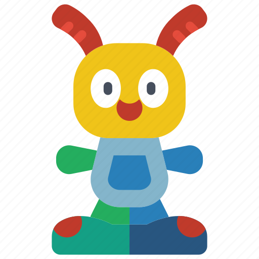 beats, bright, childrens, kids, rabbit, toy, toys icon