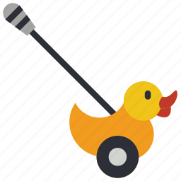 childrens, duck, kids, pushalong, toy, toys, walker icon