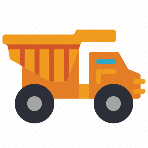 childrens, dump, kids, lorry, toy, toys, truck icon
