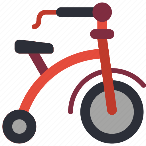 Bike, childrens, kids, toy, toys, trike icon - Download on Iconfinder