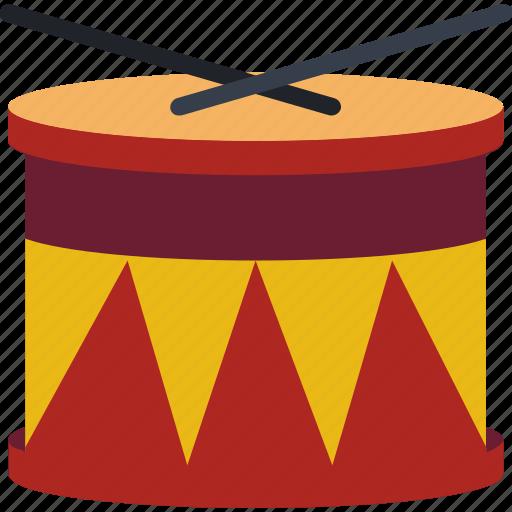 Childrens, drum, drumkit, kids, toy, toys icon - Download on Iconfinder