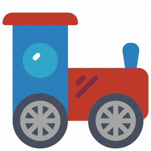 childrens, kids, toy, toys, train, truck icon