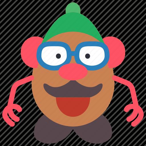 childrens, head, kids, mr, potato, toy, toys icon