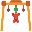 activity, baby, childrens, kids, swing, toy, toys icon