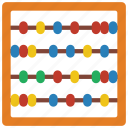 abacus, childrens, game, kids, puzzle, toy, toys icon
