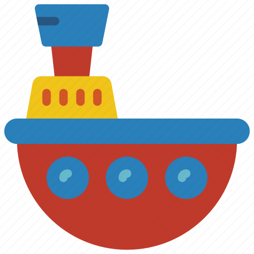 bath, boat, childrens, kids, toy, toys icon