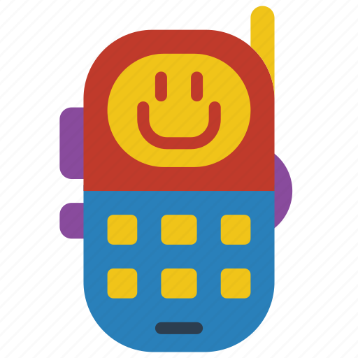 childrens, kids, phone, toy, toys icon