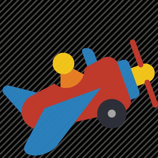aeroplane childrens kids plane toy toys icon. Black Bedroom Furniture Sets. Home Design Ideas