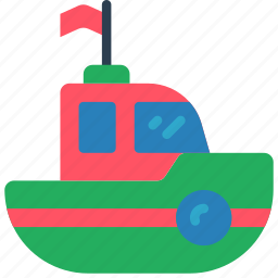 bath, boat, childrens, kids, toy, toys icon