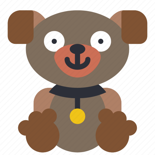 Childrens, kids, puppy, teddy, toy, toys icon - Download on Iconfinder