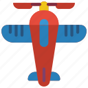 aeroplane, childrens, kids, plane, toy, toys icon