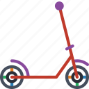 childrens, kids, ride, scooter, toy, toys icon