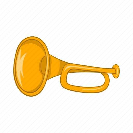 cartoon, instrument, music, musical, sign, sound, tube icon