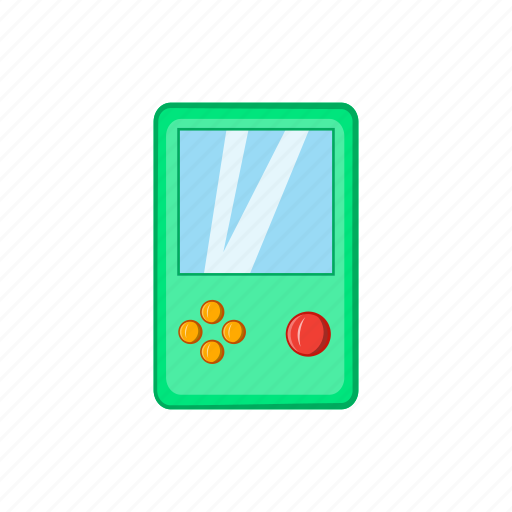 cartoon, design, game, pocket game, retro, sign, technology icon