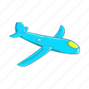 airplane, cartoon, childrens, fly, plane, sign, toy icon