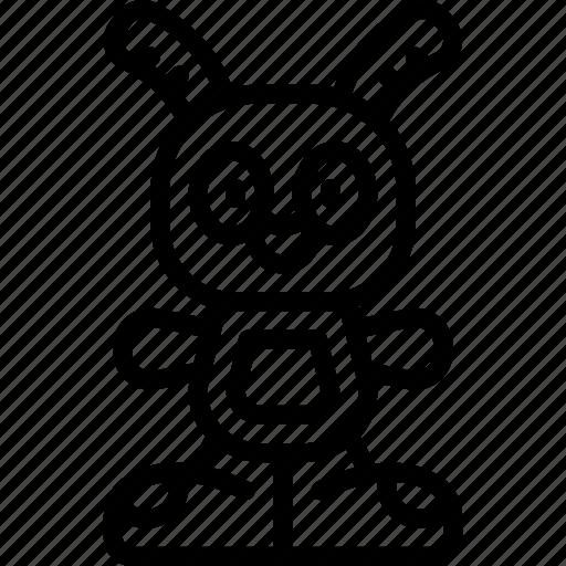 beats, bright, rabbit, teddy, toy, toys icon