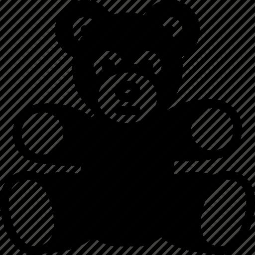 bear, childrens, kids, teddy, toy, toys icon