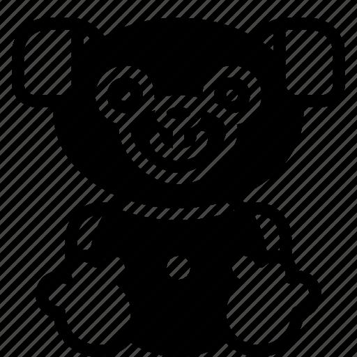 childrens, dog, kids, puppy, teddy, toy, toys icon