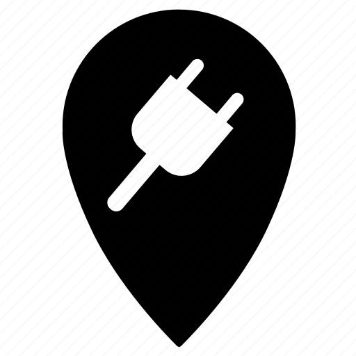 electricity, point icon