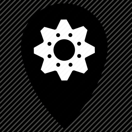 gears, shop icon