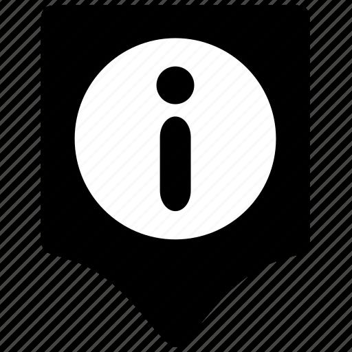 box, help, info, location, point, pointer icon