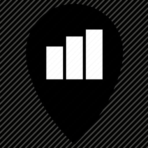 point, statistics icon