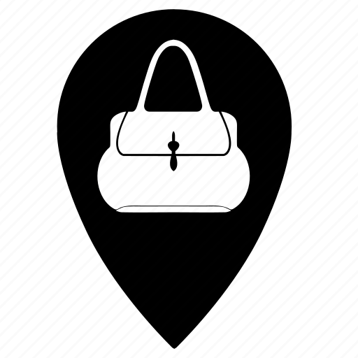 bags, woman icon