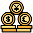 currency, economy, trading, money, finance