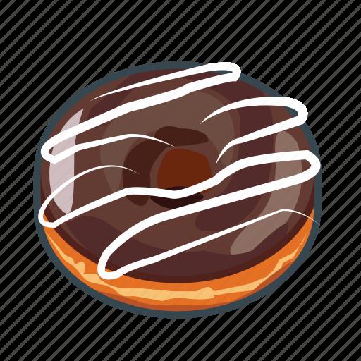 bread, cake, chocolate, donut, food, menu, restaurant icon