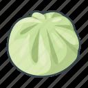 asian, bread, bun, dumplings, food, pau, restaurant icon