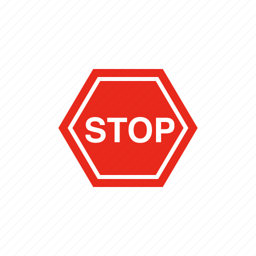 Road sign, sign, stop, traffic sign icon - Download on Iconfinder