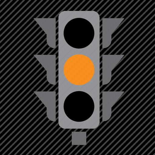 car, circulation, light, orange, pedestrian, traffic icon