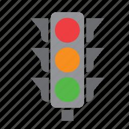 car, circulation, green, light, pedestrian, red, traffic icon