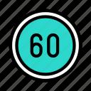 speed, traffic, board, sign