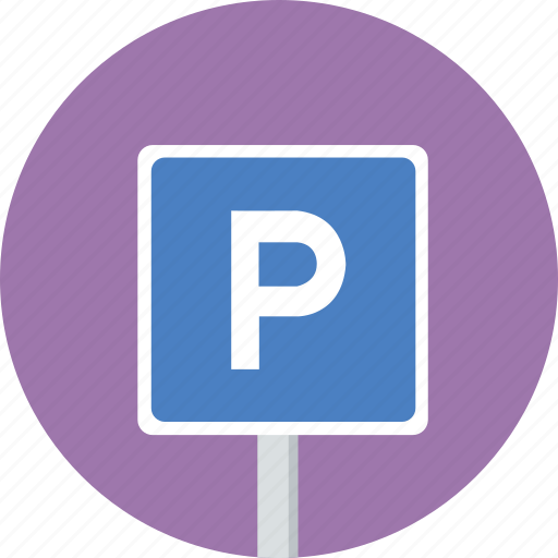parking, parking lot, sign, traffic icon