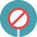 prohibition, sign, traffic, warning