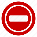 no, no stop, regulatory, sign, stop, traffic icon