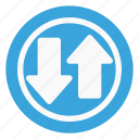 traffic, sign, way, two way traffic icon
